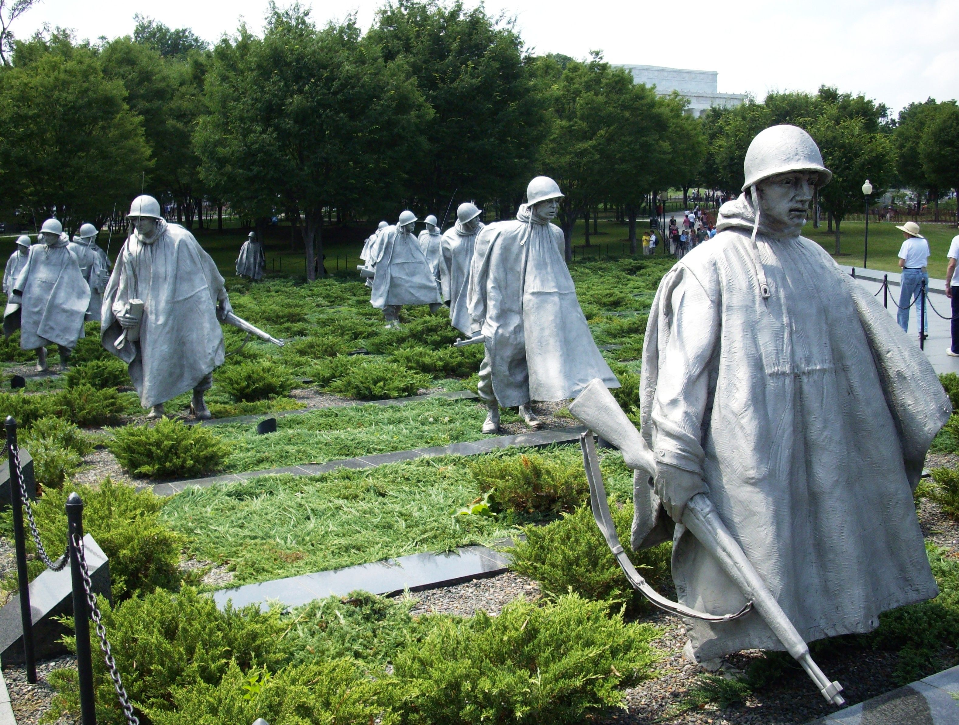 Korean War Veterans Memorial Washington Dc We Will Never Forget