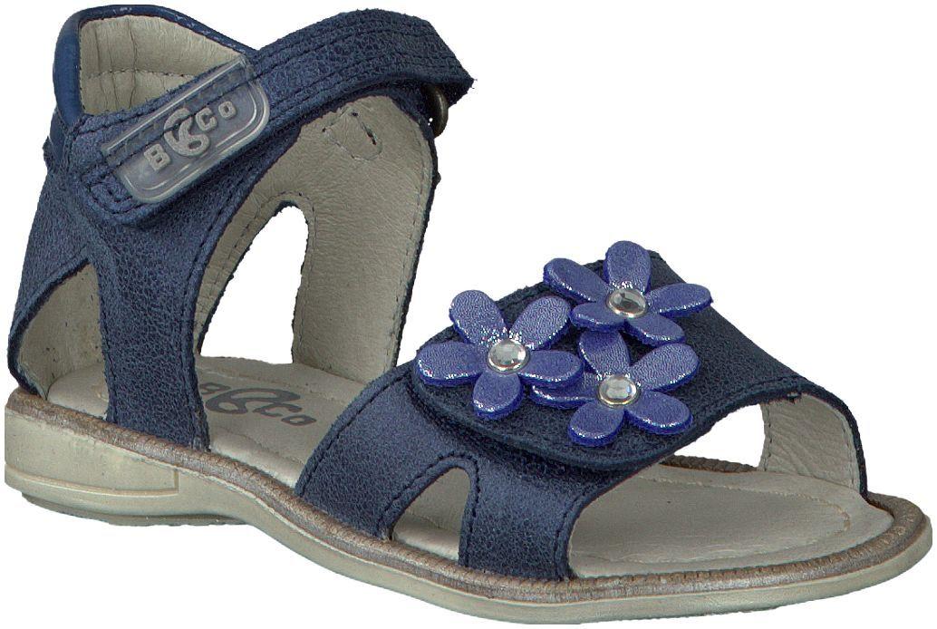 Blauwe Bana sandalen 43730 Sandały