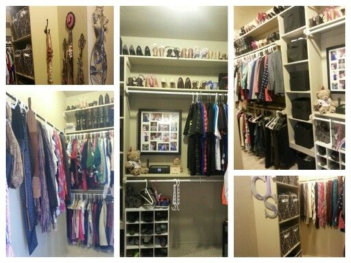 Closet Organization. The Cheapest Place To Purchase The Fabric Boxes Are Big  Lots And Family