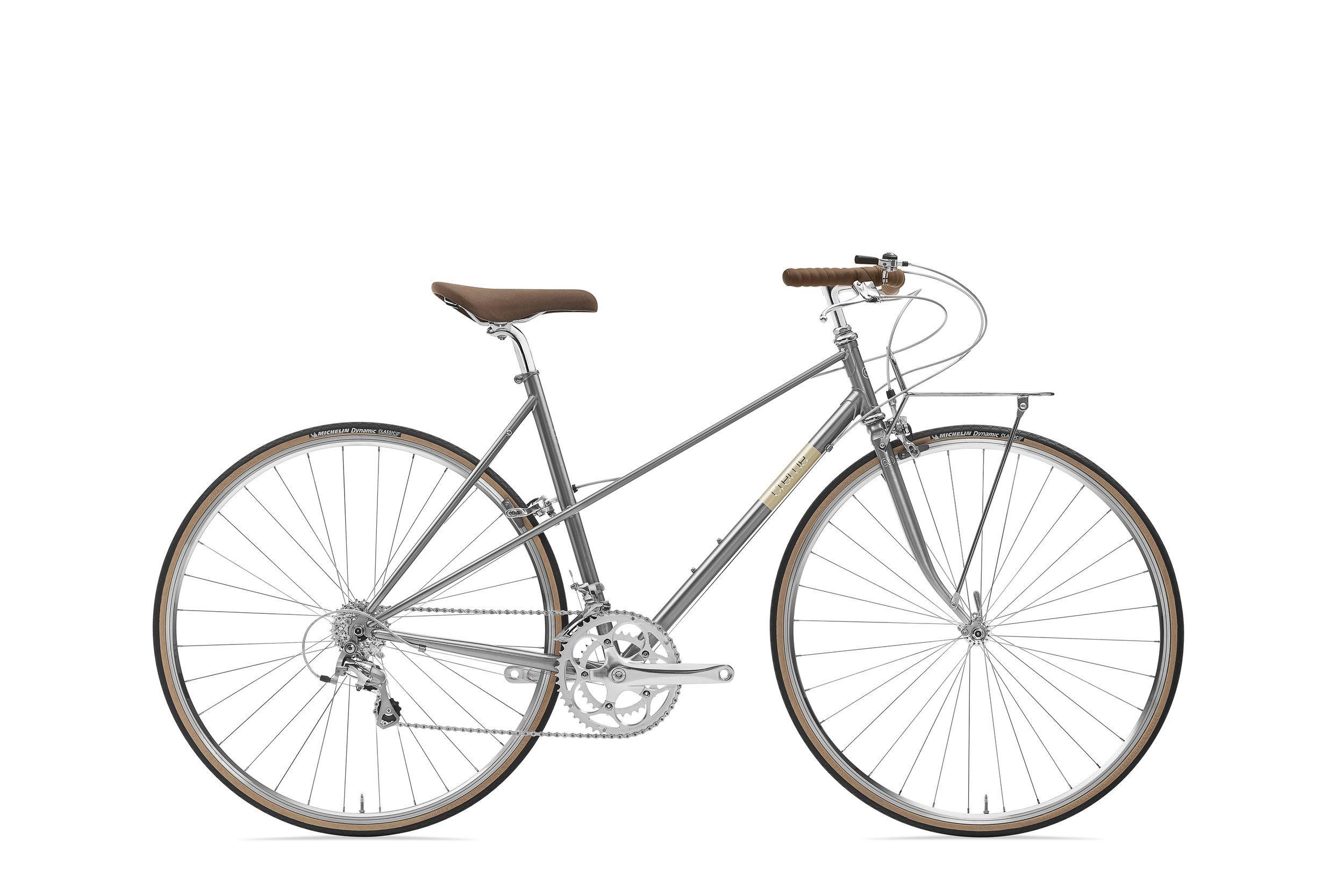 Creme Echo Mixte Solo Silver Classic Road Bike New Classic