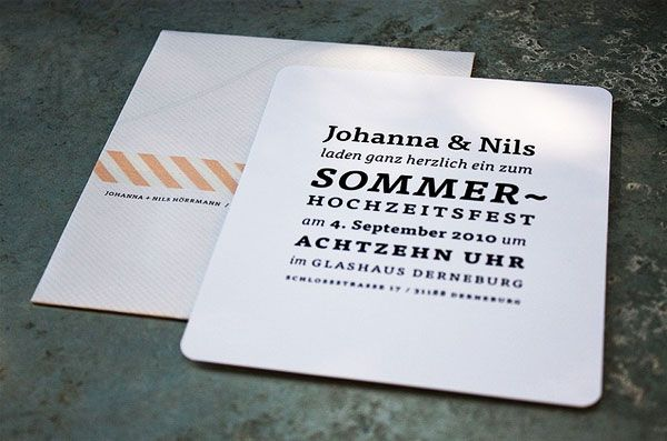 nice type and idea of the map on the reverse side of the envelope
