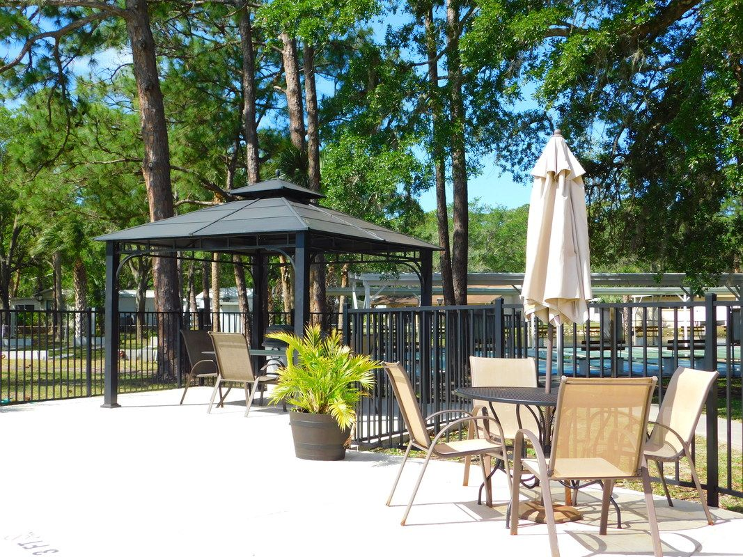 Shaded Area For Get Togethers Bbqs And Gatherings Of Friends And Neighbors Resort Famous Beaches Rv Parks