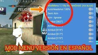 Nuevo H A C K Mod Menú Para Free Fire Versión En Español Nueva Actualización Auto Headshot Hack Free Money Free Puzzles Free Gift Card Generator