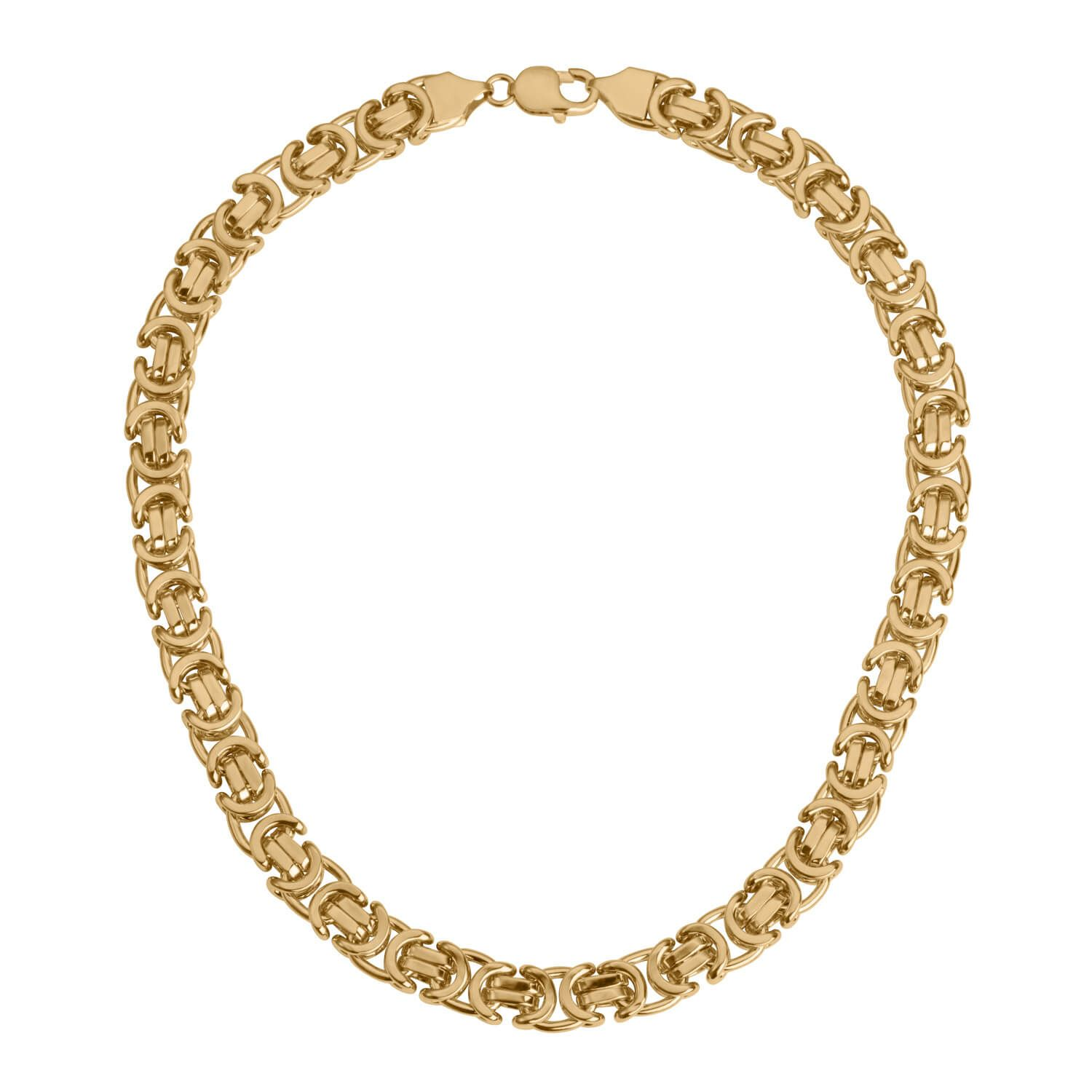 Brilliant Bijou 14k Yellow Gold Heavy-Baby Rope Chain Necklace