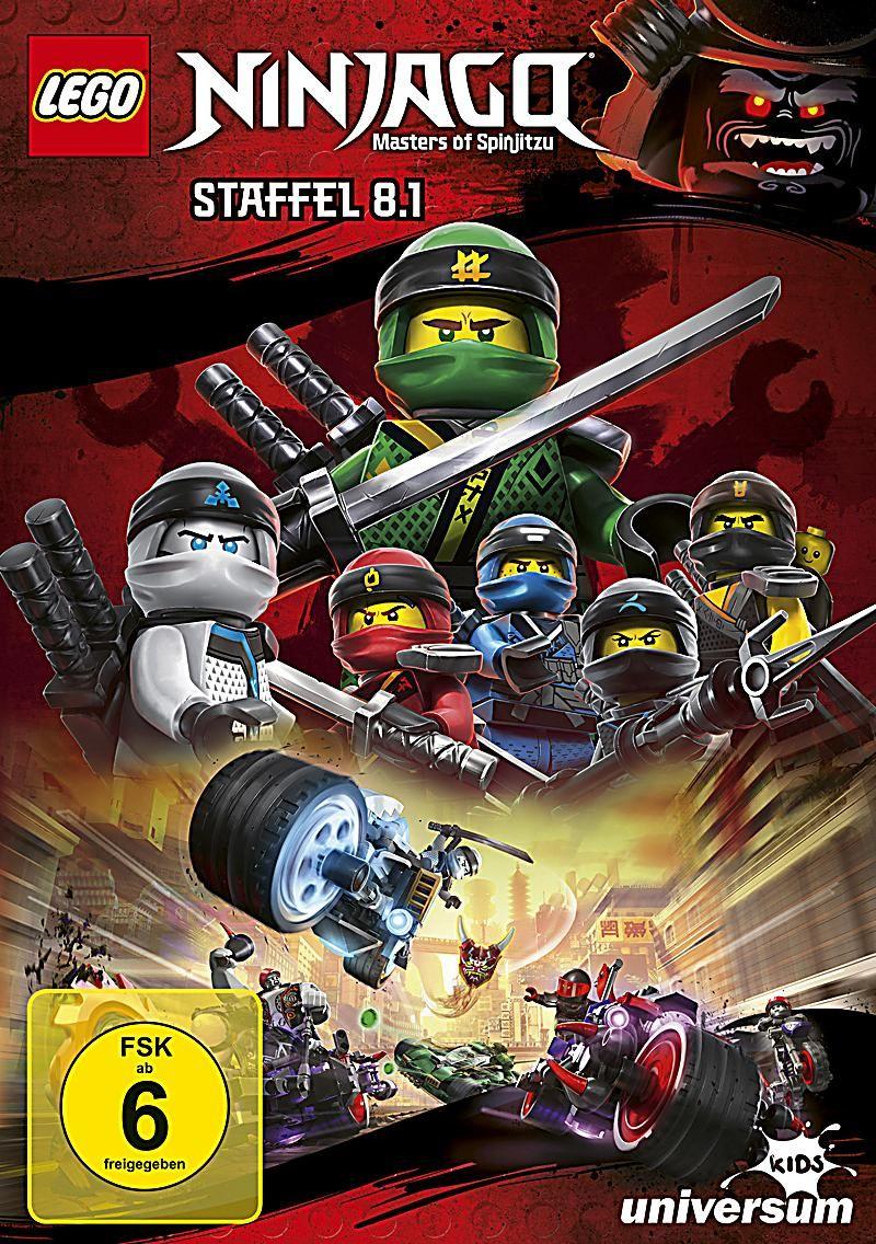 lego ninjago  staffel 81 dvd bei weltbildde bestellen