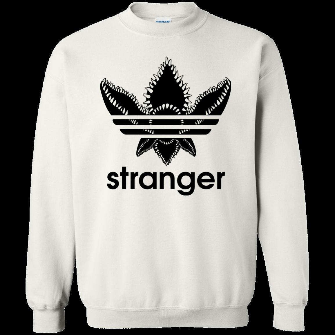Stranger Things Stranger Demogorgon Adidas Shirt Hoodie Long Sleeve Stranger Things Shirt Stranger Things Outfit Stranger Things Hoodie [ 1155 x 1155 Pixel ]
