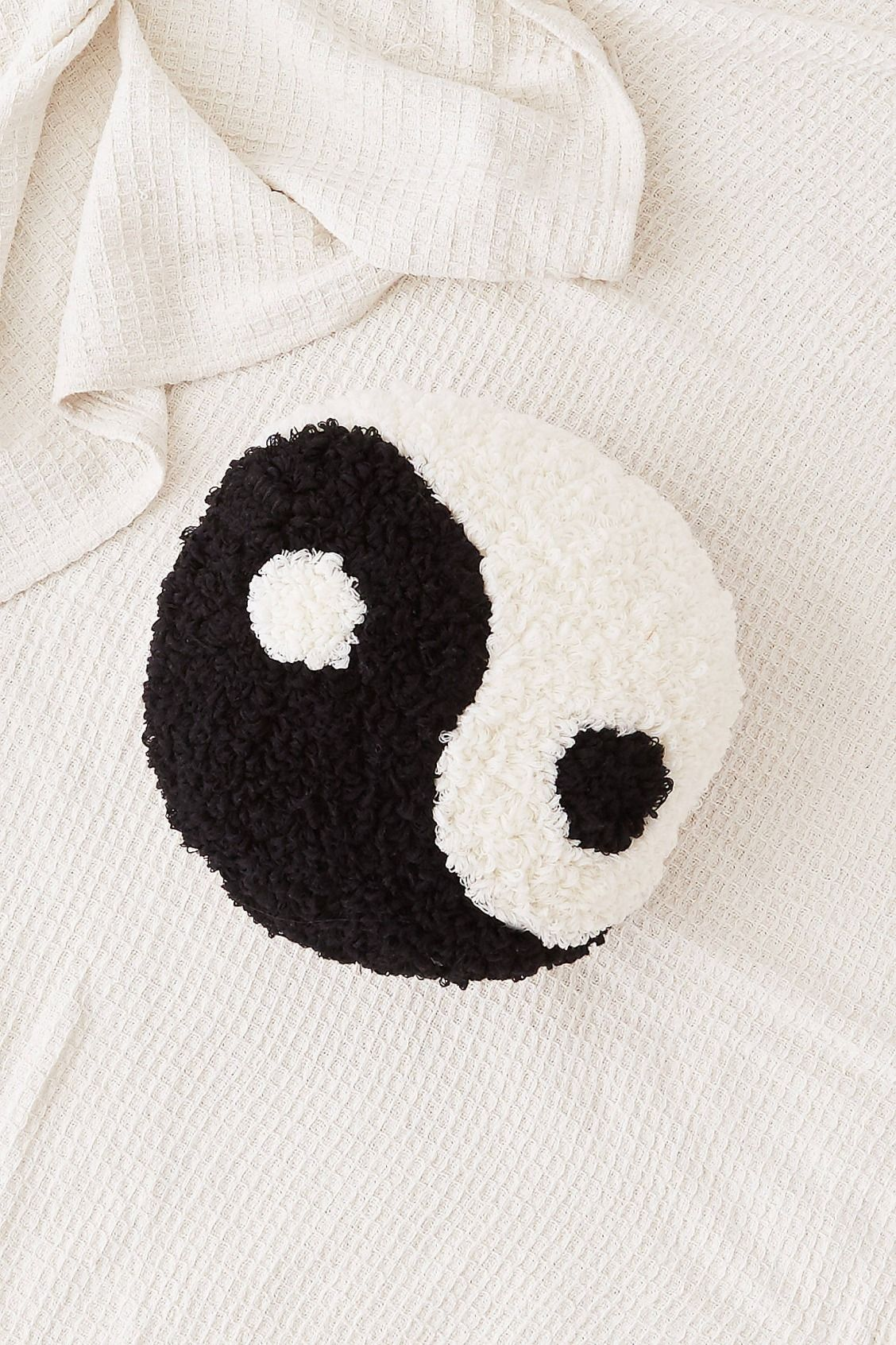 Ying Yang Decor Throw Pillow Cushion