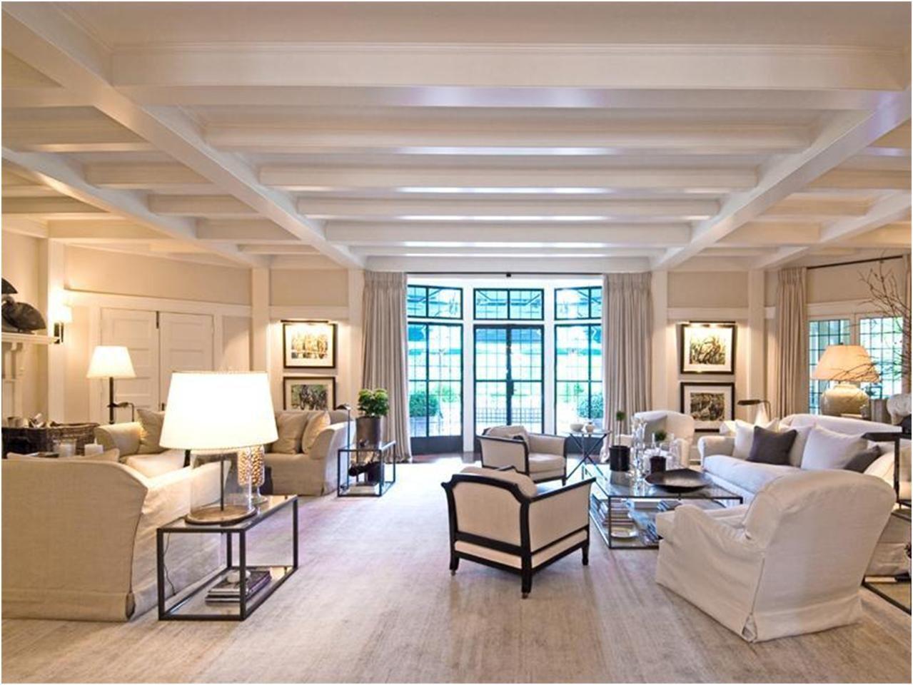 Great neutral living room living family room pinterest for Hamptons living room designs
