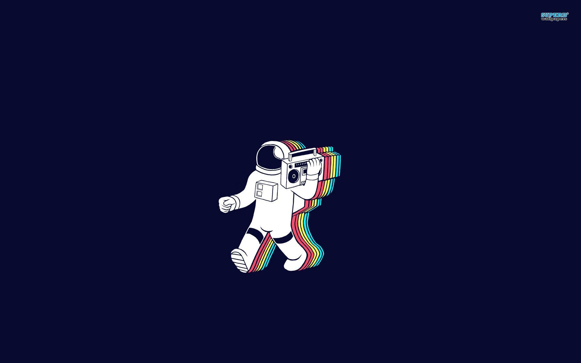 Party Astronaut Wallpaper Music Wallpapers Astronaut Wallpaper Desktop Wallpaper Art Aesthetic Desktop Wallpaper