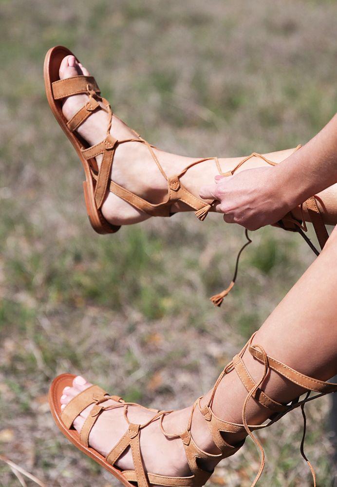 Frye Ruth Gladiator Tall Sandal gNY2P3