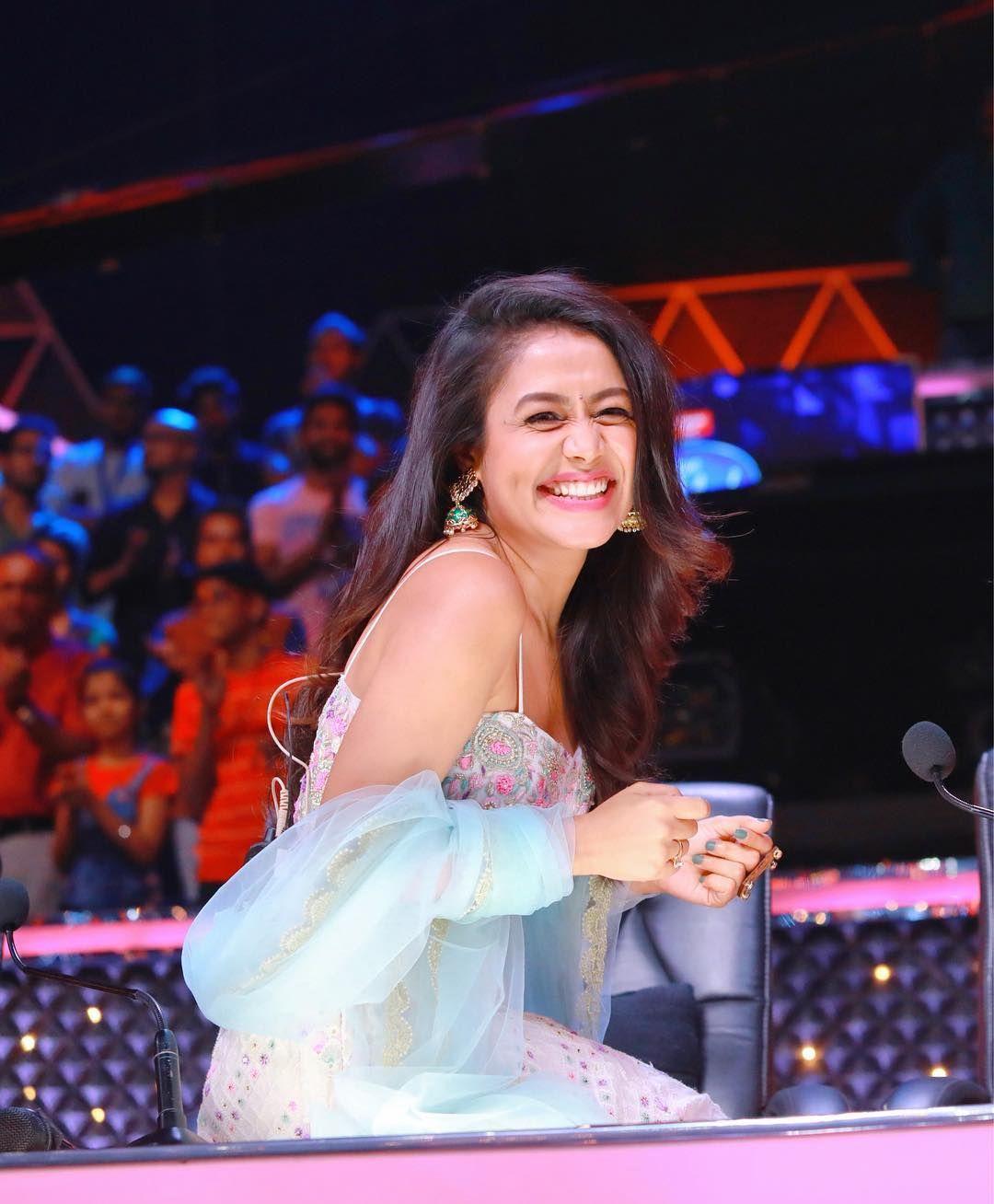 Cute Smile Bollywood Actress Bikini Neha Kakkar Dresses Neha Kakkar