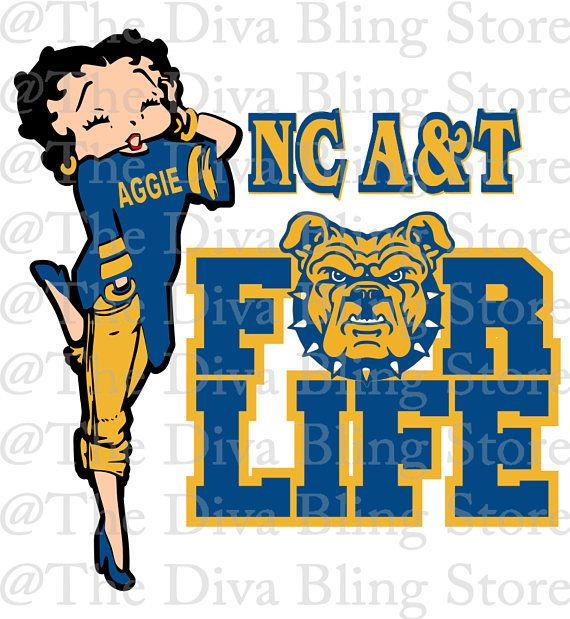 Nc A T Aggie For Life Svg File Aggies Svg College Logo