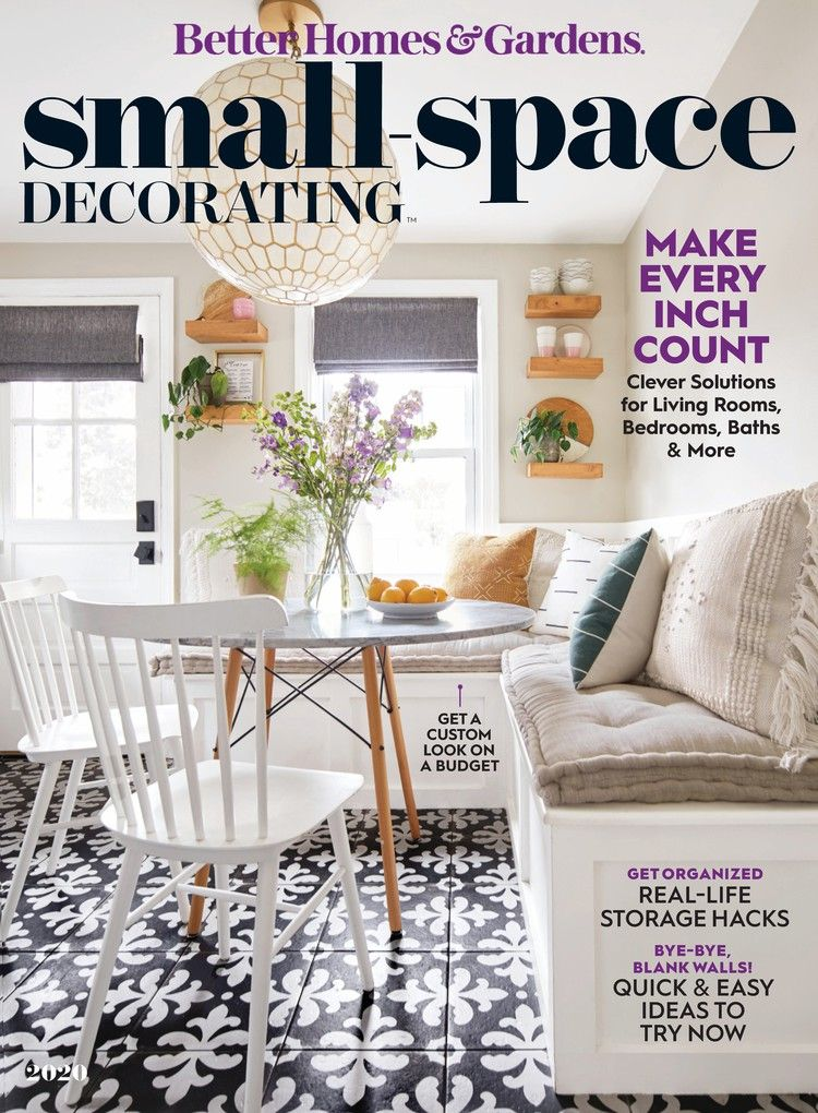 Better Homes Gardens Small Space Decorating Decorating Small Spaces Small Space Gardening Better Homes