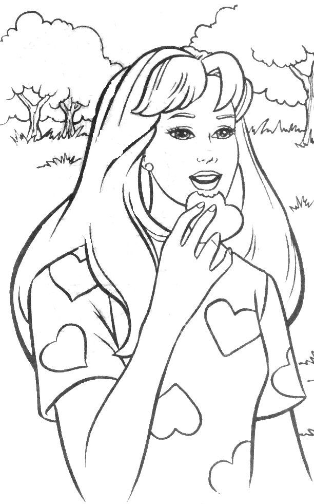 Pin By Fregina On Barbie Coloring Coloring Pictures Barbie Coloring Pages Coloring Books