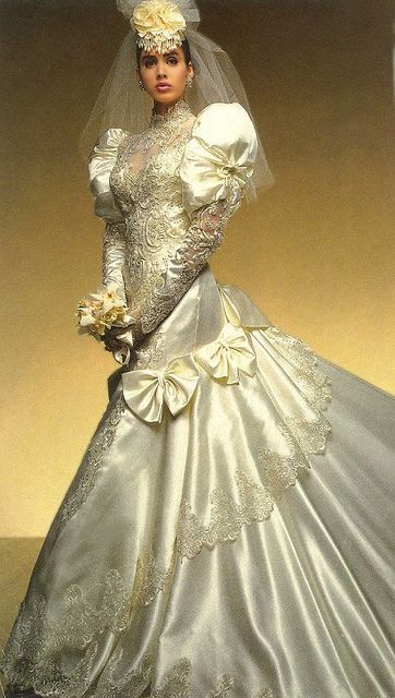 90 S Wedding Gowns Fashion Dresses Picture For 80s 90s