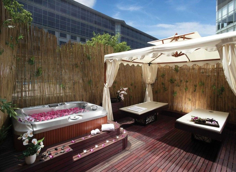 Best Backyard Spa Ideas In The World Backyard Landscaping Ideas With Spa  Bathroom Appealing Unusual Unique