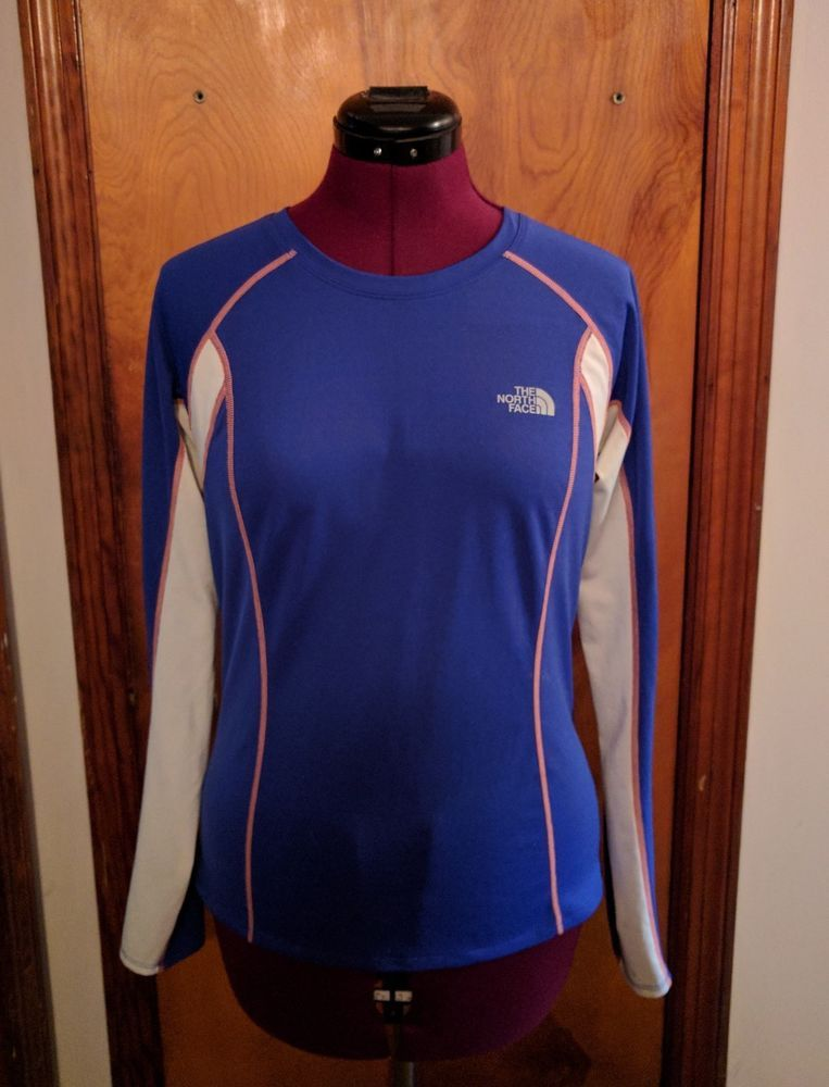 8f25015258f The North Face GTD Long Sleeve Running Shirt Women s Polyester Size Medium   TheNorthFace  RunningShirt