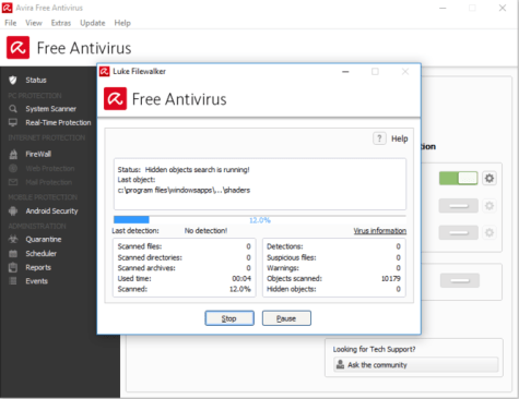 pc antivirus software free download for windows 7