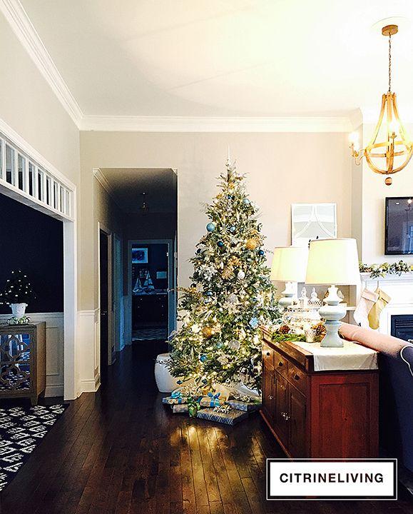 CHRISTMAS HOME TOUR   CITRINELIVING
