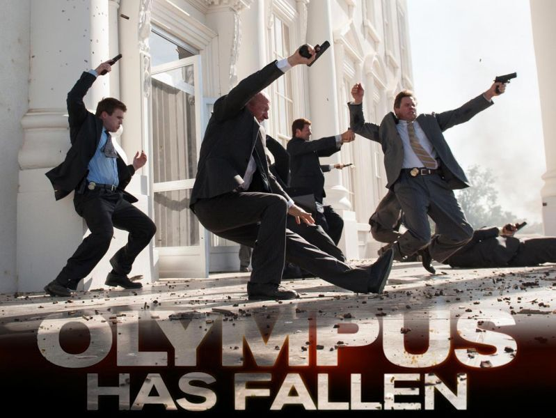 With the few flaws Olympus Has Fallen has it is shades and notches better than Zero Dark Thirty. Read our review..  http://www.buzzintown.com/movie-review--olympus-has-fallen-movie-review/id--7679.html