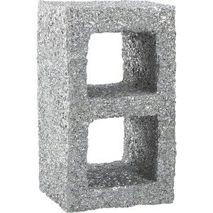 CB2 Cinder Bookend - Would be soooo easy to make with spray paint! - H. Scott