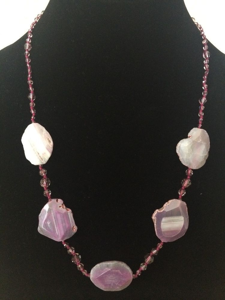 NWT AUTH Chan Luu Pink Agate Mix Necklace #ChanLuu #ChanLuuNecklace #Necklace #PinkAgateNecklace #PinkAgate #Agate #ChanLuuJewelry