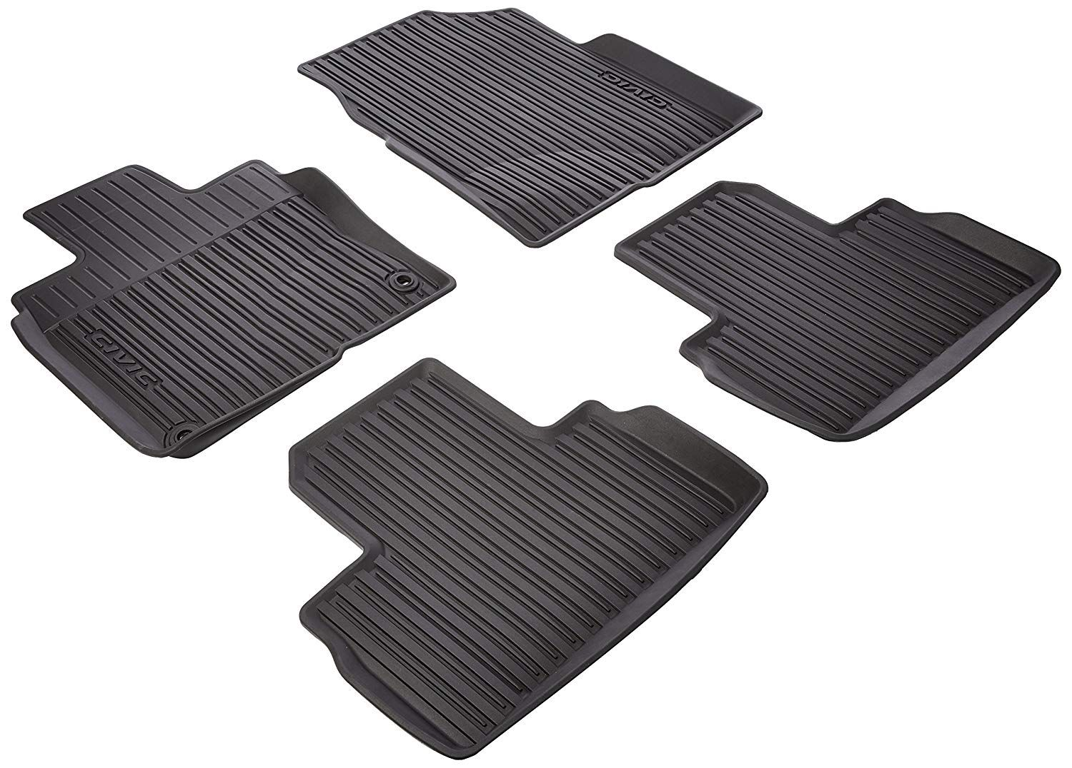Genuine Honda 08p17 Tba 300 All Season Floor Mats High Wall Click Image To Review More Details This Is An Affil Floor Mats High Walls Expensive Sports Cars