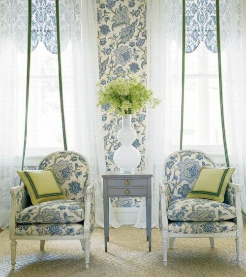 country french style rooms mostly dedicated to wallpaper and