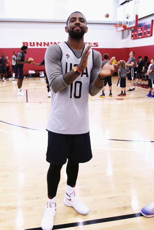 more photos 8d170 e0413 Kyrie Irving | Olympics 2016 | Kyrie irving, Nba wallpapers ...
