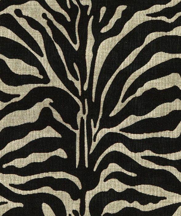 Kravet 32579 811 | Grey Black | Velvet Animal