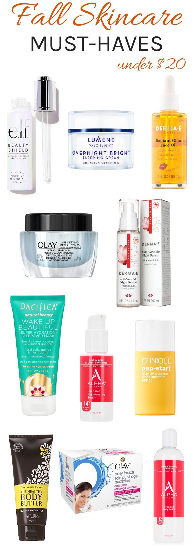 Get Your Glow Back Fall Skincare Staples Under  To Repair