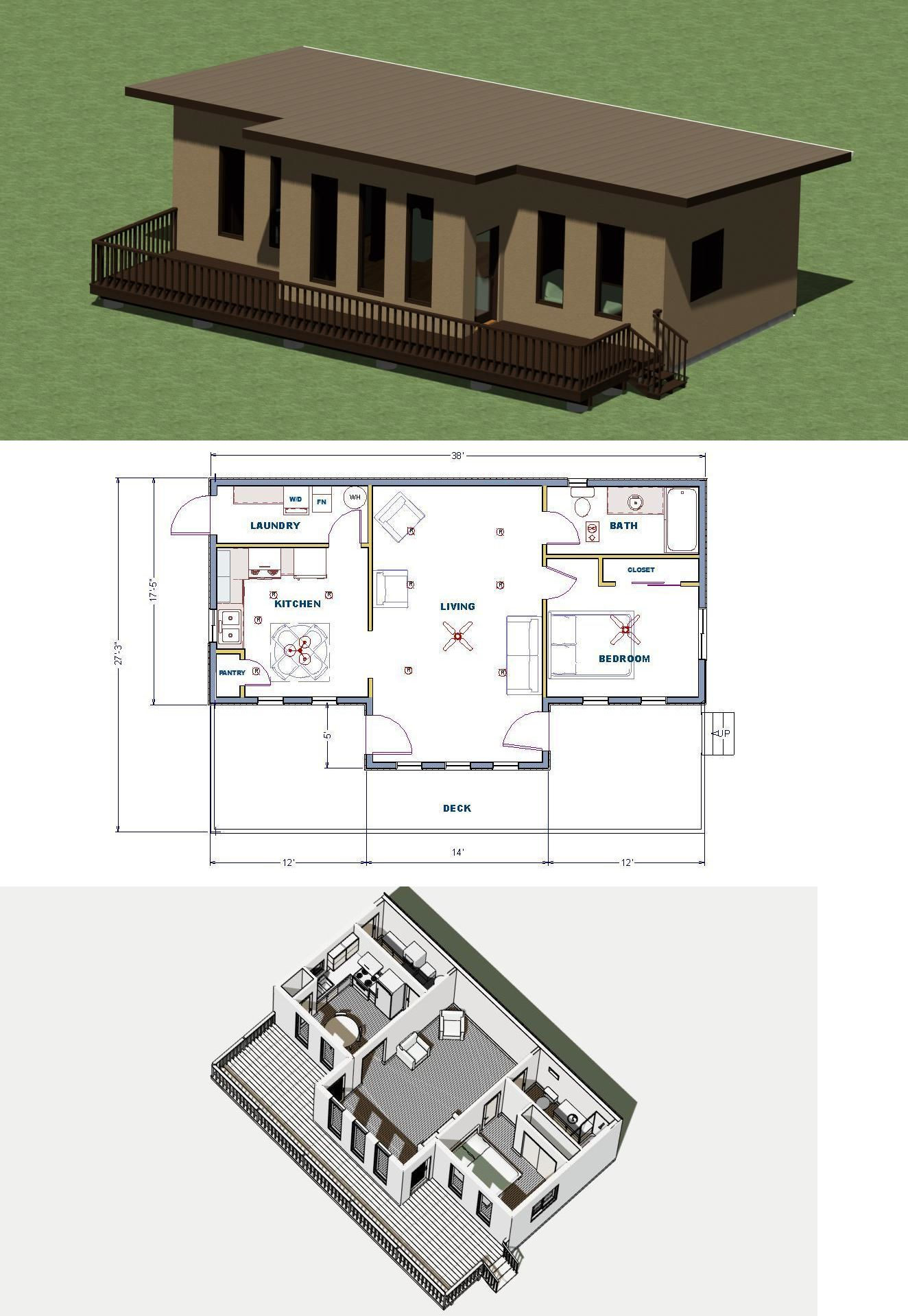 Building Plans And Blueprints 42130 Small Modern Style House Construction Plans 778 Sq Ft With En House Construction Plan Construction Plan Home Construction