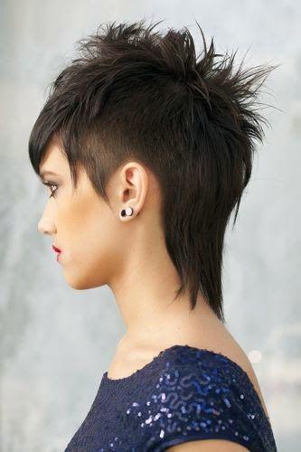 Cortes de cabello corto estilo punk