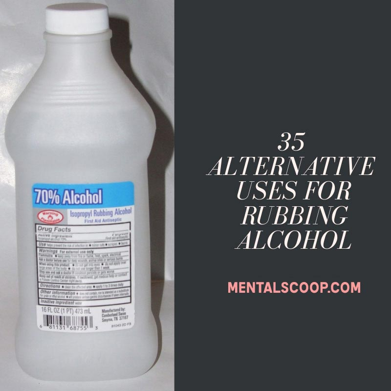 35 Amazing Uses for Rubbing Alcohol in 2020 Rubbing