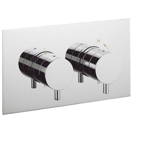 Crosswater Kai Lever Thermostatic Shower Valve   Recessed   Two Way Diverter