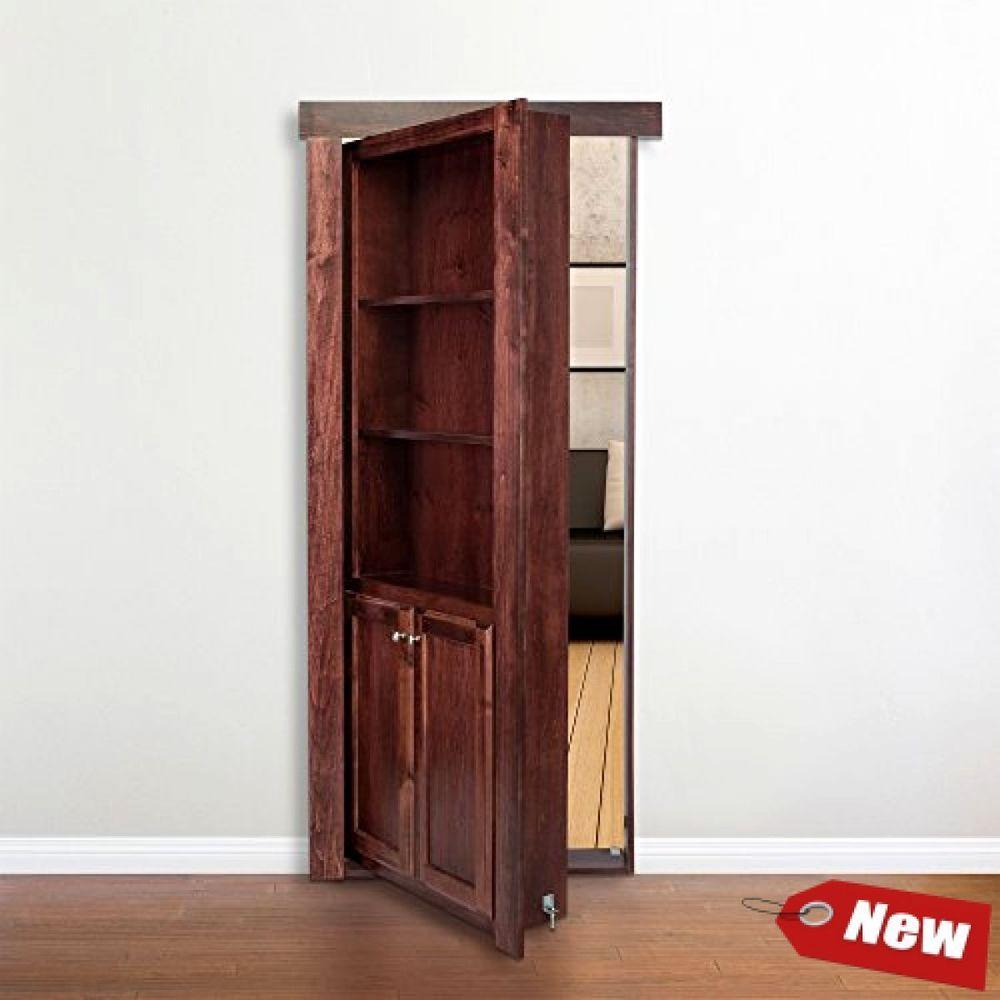 Hidden Door Hinge System Secret Bookshelf Passage Swing Home Doorway Made In Usa Murphydoor Hidden Door Hinges Hidden Door Murphy Door