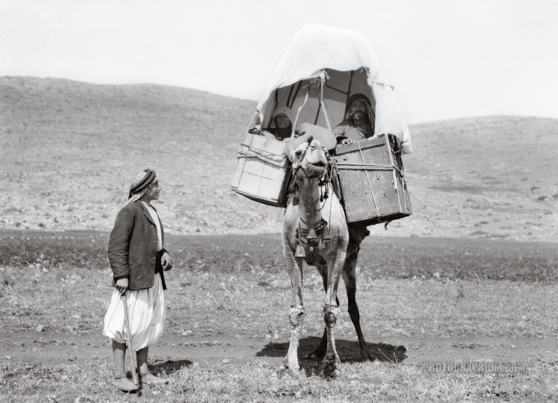 Travelling on Camel Back: Jordan 1900-1920 | Photographium | Historic Photo Archive