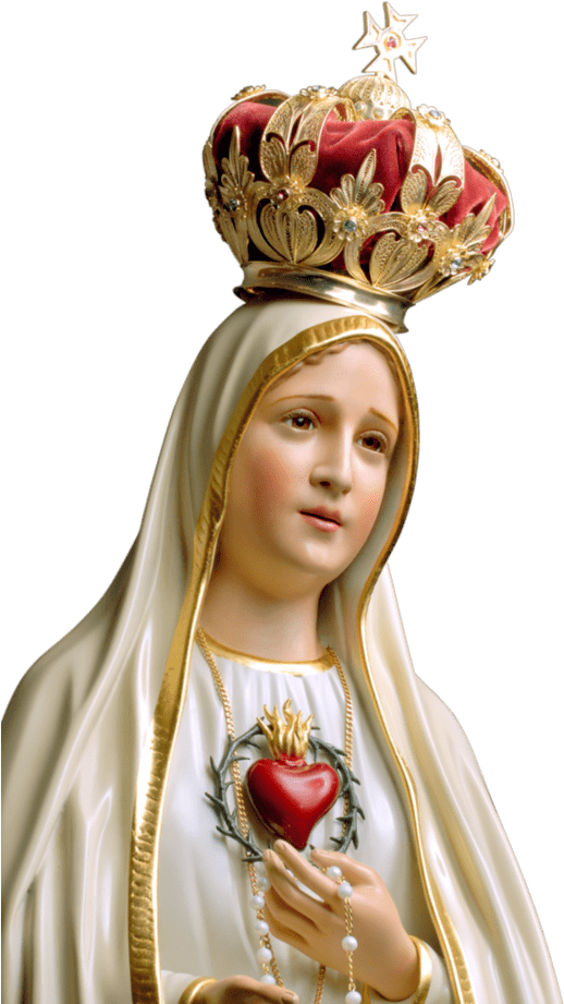 Virgen De Fatima Rosary Mary Mother Of God Png Download Transparent Png Image Mother Mary Pictures Mary Jesus Mother Mother Mary Images