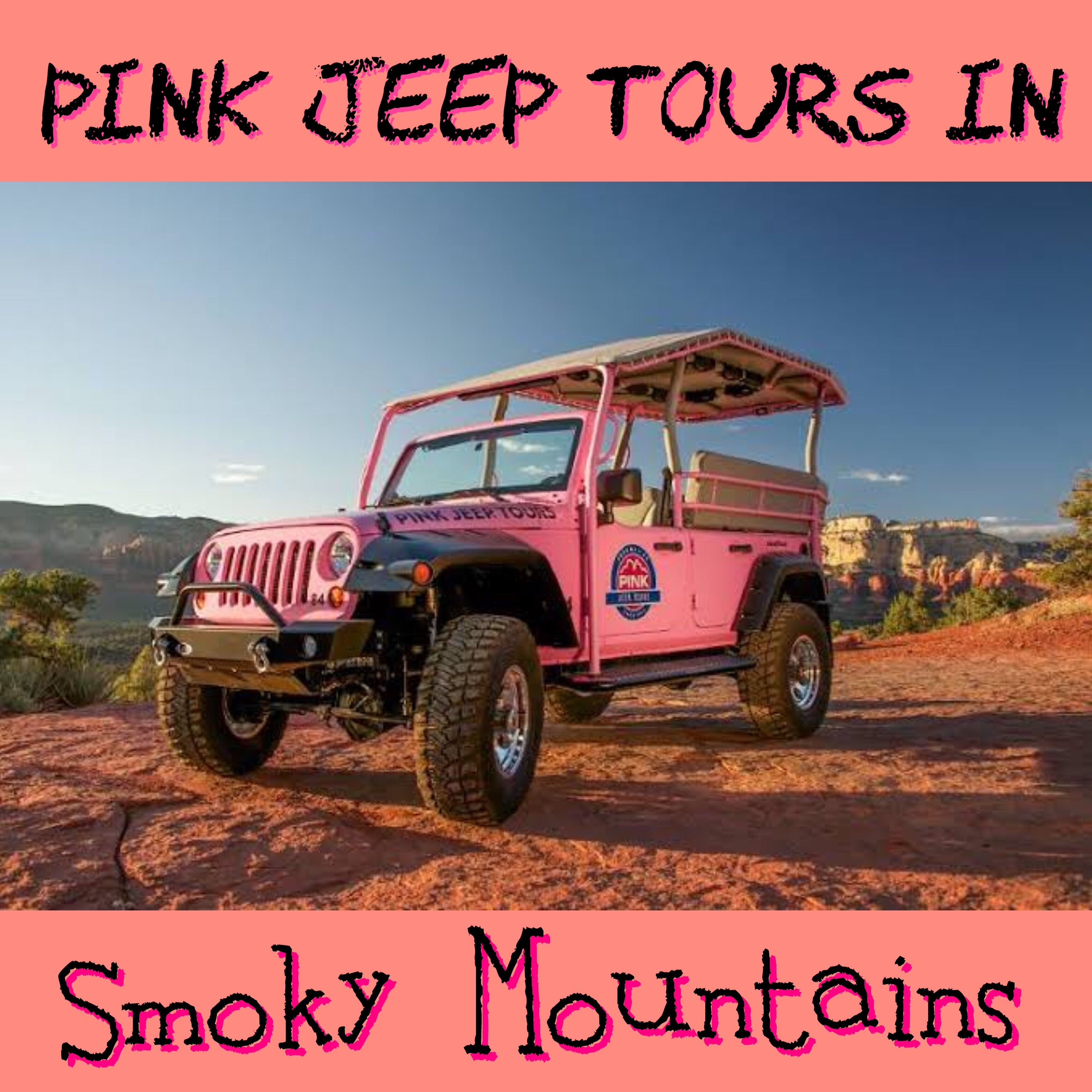 Pink Jeep Tour Pink Jeep Smokies Smoky Mountains