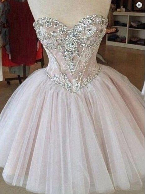 Homecoming Dress Sweetheart Neckline Short Prom Dress pst0879 ...