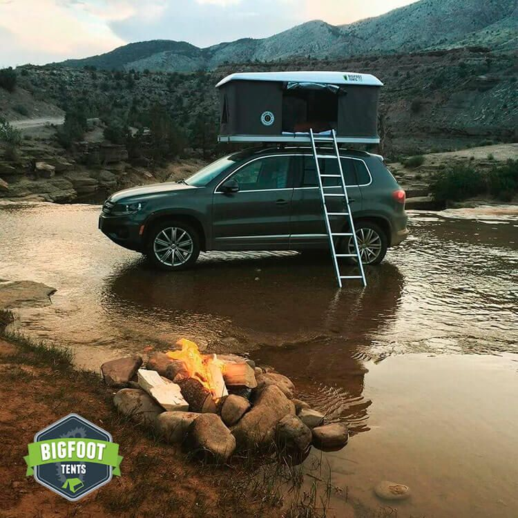 Explorer Series Hard Shell Roof Top Tent & Explorer Series Hard Shell Roof Top Tent | tents | Pinterest ...