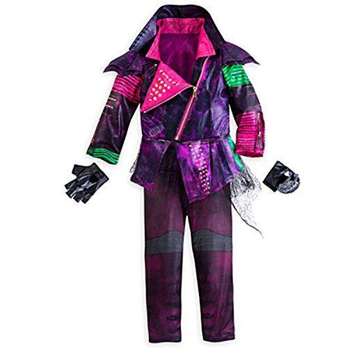 Disney Deluxe Mal Costume Descendants Girls Size 7-8 Medium Role Play Halloween