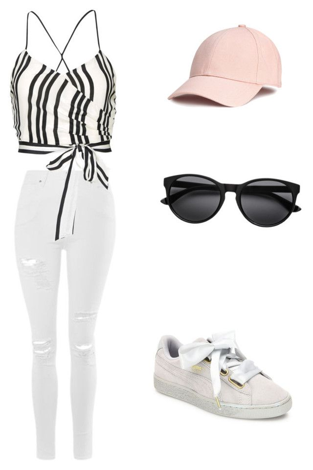 """""""Untitled #14"""" by emmykarllsonn on Polyvore featuring Topshop, Alice + Olivia and Puma"""