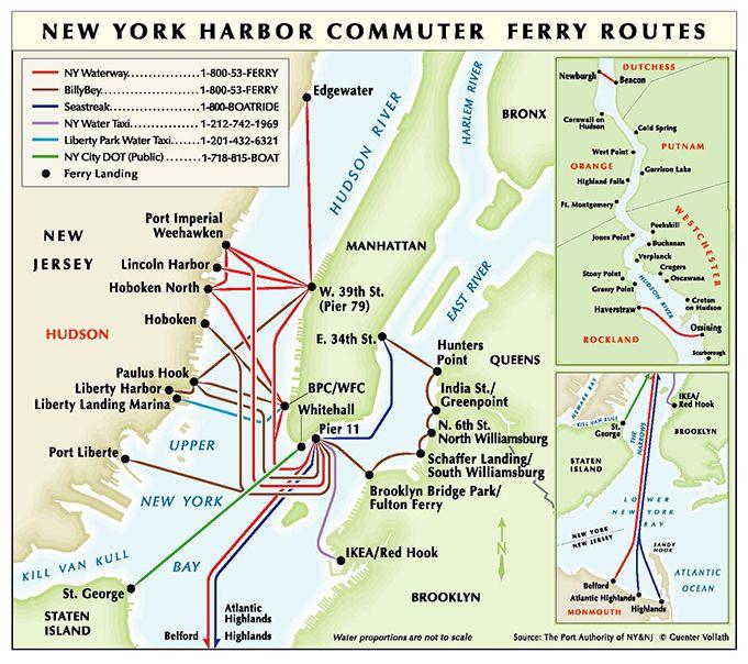 Ferry Transportation - The Port Authority of NY & NJ   NYC