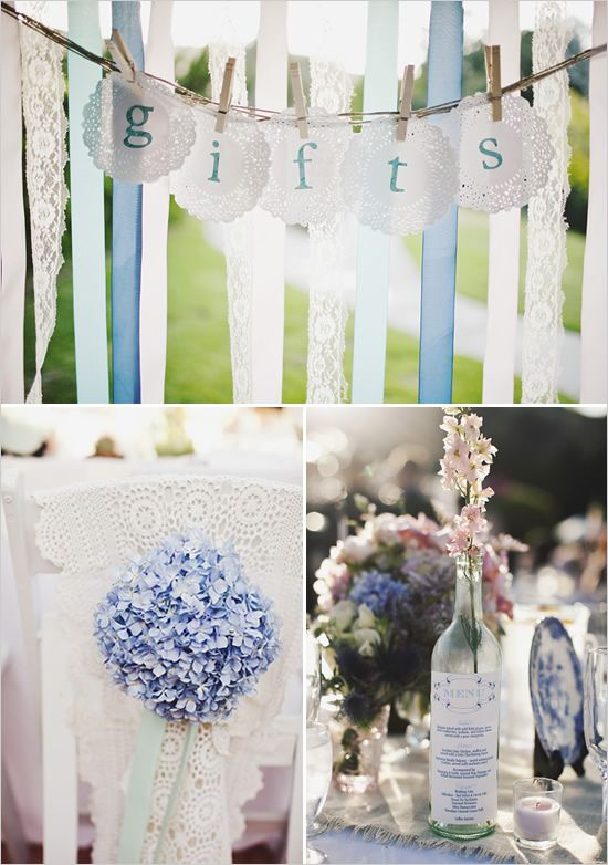 signs....baby shower or wedding shower