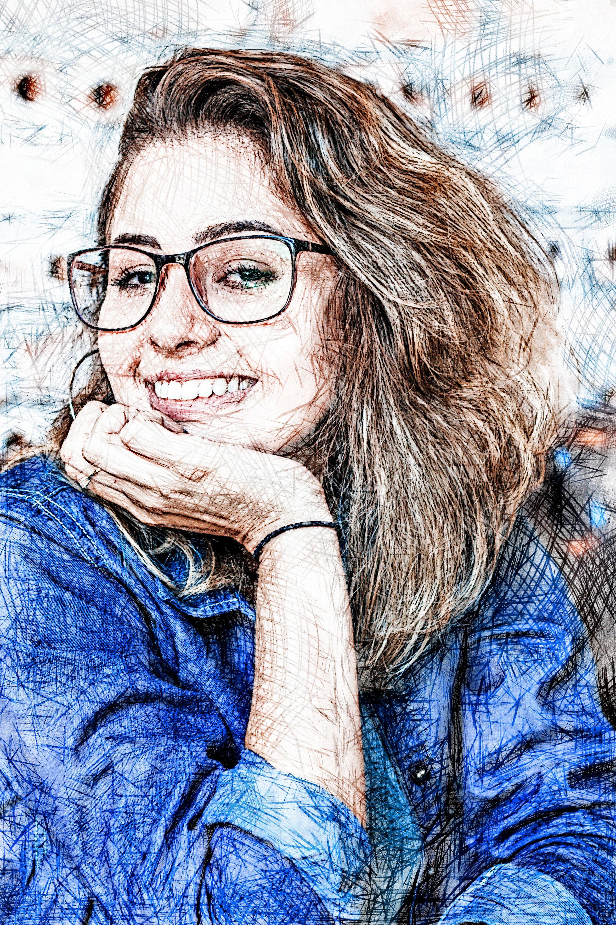 Pencil Sketch v1.0 Photoshop Action #Sketch, #Pencil, #