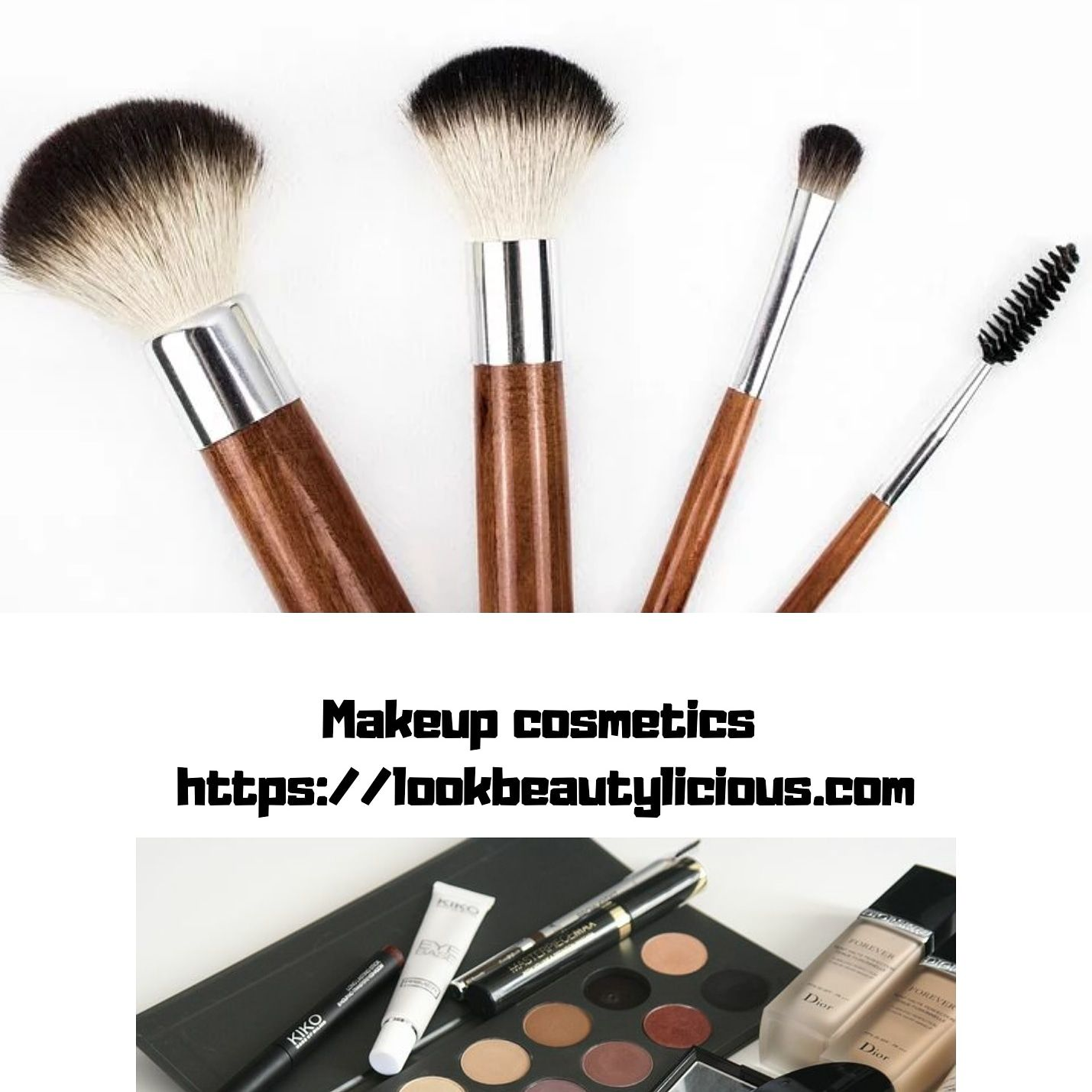 Look beauty licious we have all types of makeup products