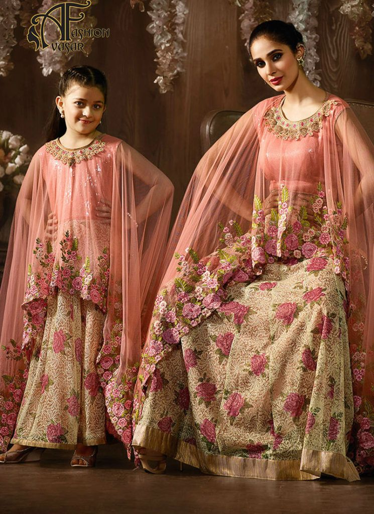 8c45f1dc36 Combo Dresses Mother Daughter buy online. Combo Dresses Mother Daughter buy  online Wedding Salwar Suits ...