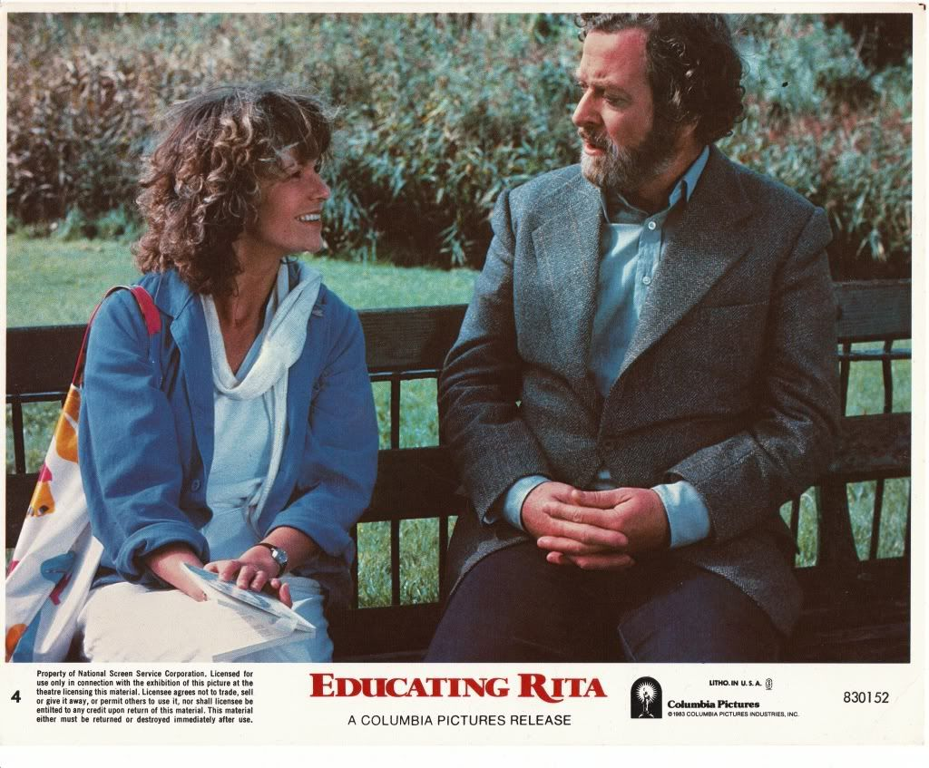 educating rita is a 1983 drama comedy film directed by lewis educating rita is a 1983 drama comedy film directed by lewis gilbert a screenplay by willy russell based on russell s stage play the film sta