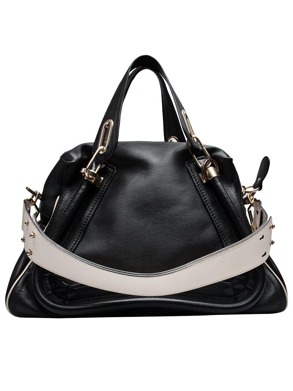 60f833eae37f CHLOE - Paraty Bag with military strap